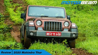 2020 Mahindra Thar Off-Road Review | MotorBeam