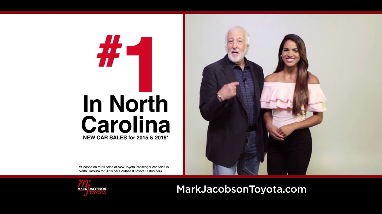 Model Year End Sale At The #1 New Car Dealer In NC! Mark Jacobson Toyota