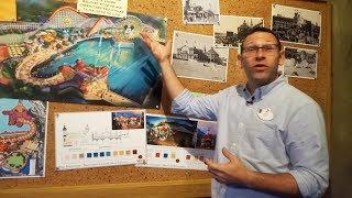 Pixar Pier concept art tour with Walt Disney Imagineers at Disneyland Resort