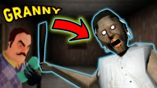 The Neighbor's GRANDMA GOES CRAZY!!! | Granny (Mobile Gameplay)