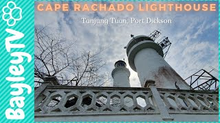 Cape Rachado Lighthouse after breakfast at Kafe Kampung Kaw | Cute Bichon Frise Msia Ep35 | BayleyTV