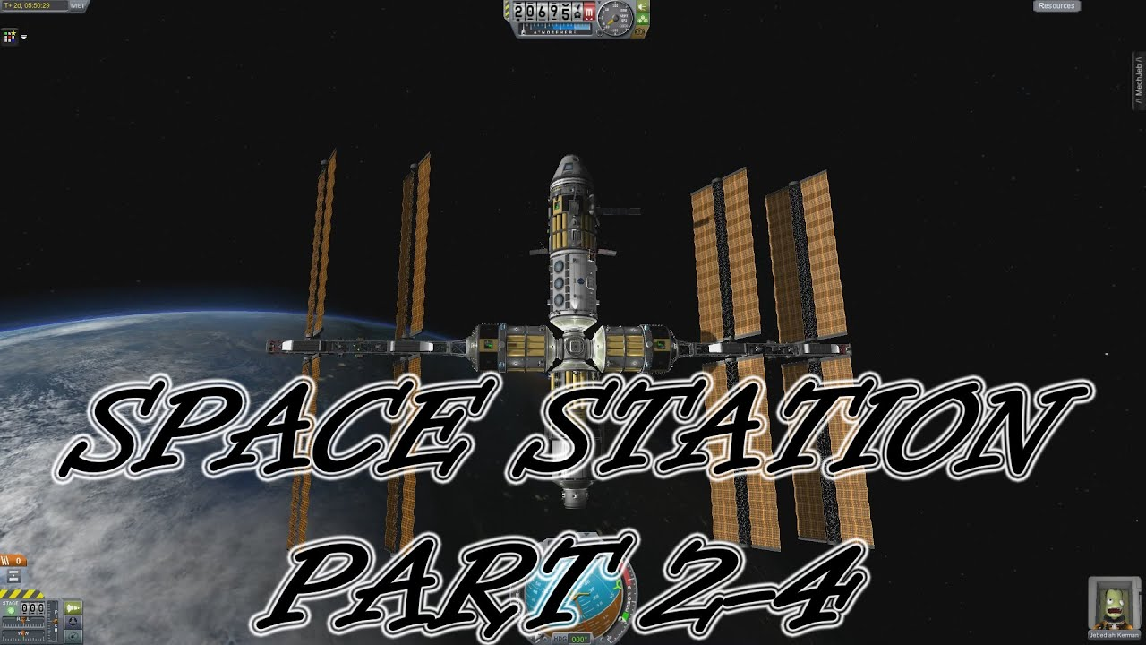 Kerbal Space Program - Space Station - Docking More ...