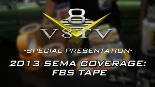 2013 SEMA Show Video Coverage: Steve Deman & FBS Stripe Tapes