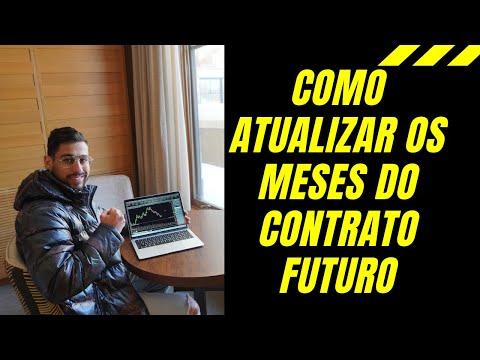 COMO ATUALIZAR O CONTRATO FUTURO NO NINJATRADER.