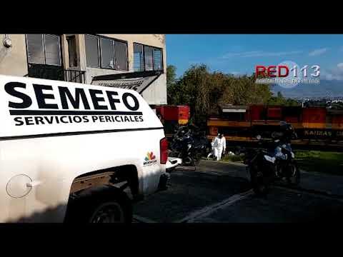 VIDEO Fallece al ser atropellado por el tren en la Tenencia Morelos