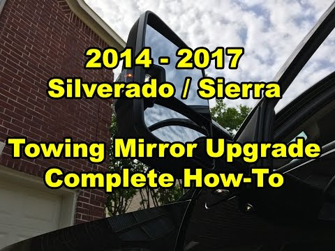 2014 - 2018 - GM Silverado / Sierra - Towing Mirror Upgrade F Wiring Schematic For Torxe Tow Mirrors on