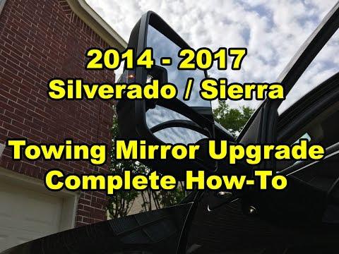 2014 - 2017 - GM Silverado / Sierra - Towing Mirror Upgrade