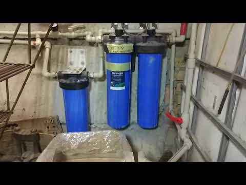 Очистка воды от ржавчины железа (работа над ошибками, модернизация)