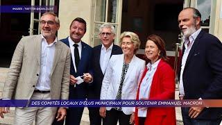 Yvelines | Des comités locaux d'élus municipaux pour soutenir Emmanuel Macron