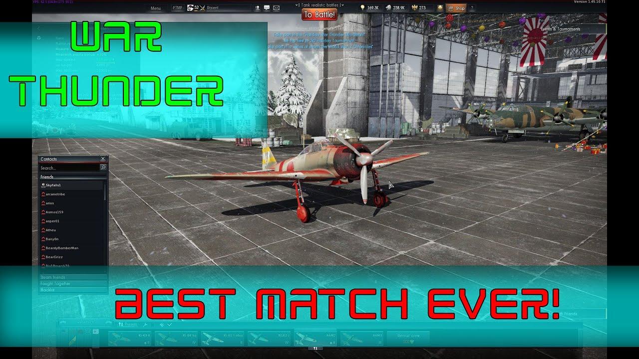 Matchmaking war thunder