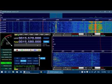 Voice of America via Botswana relay on Soft66RTL2 SDR