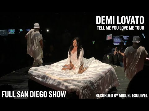 Demi Lovato  Tell Me You Love Me Tour Full Show Opening Night San Diego REUPLOAD