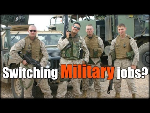 Can You Switch Jobs in the Military?