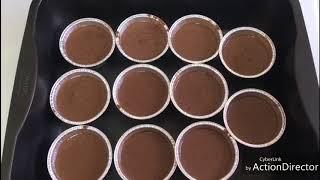 шоколадный маффин-кекс(просто и вкусно)!!