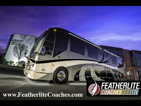 Featherlite Coaches | Luxury Prevost Conversions & Motorhomes