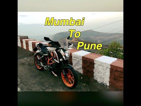 Mumbai to Pune | By road | KTM Duke 390