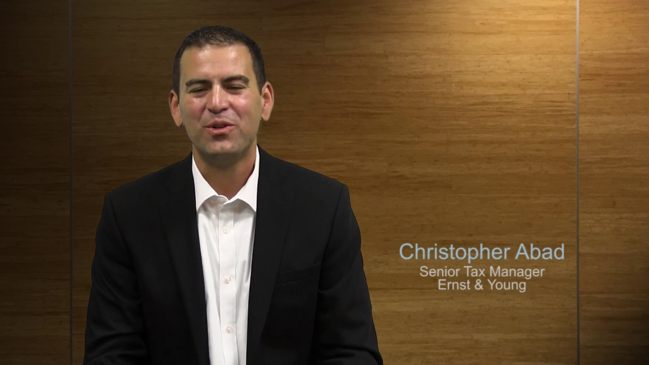 Christopher Abad - Senior Tax Manager - Ernst & Young