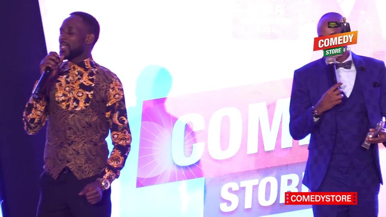 Alex Muhangi Comedy Store April18 - Mc Mariachi