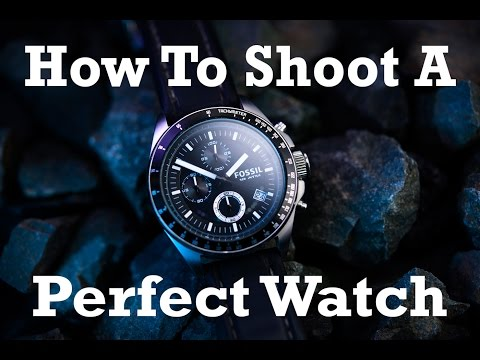 How to Capture a Beautiful Watch Product Shot Using Only an iPad for Lighting