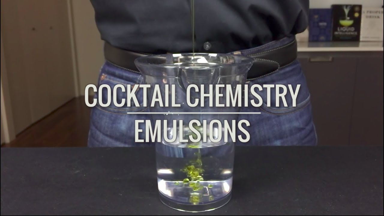 Advanced Techniques Emulsions Cold Buttered Rum YouTube