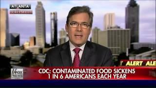 CDC released new report on food-borne illnesses