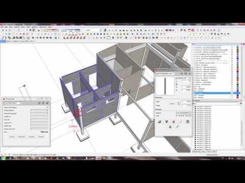 SketchUp : 5D Take-Off Estimate (Solo-01)
