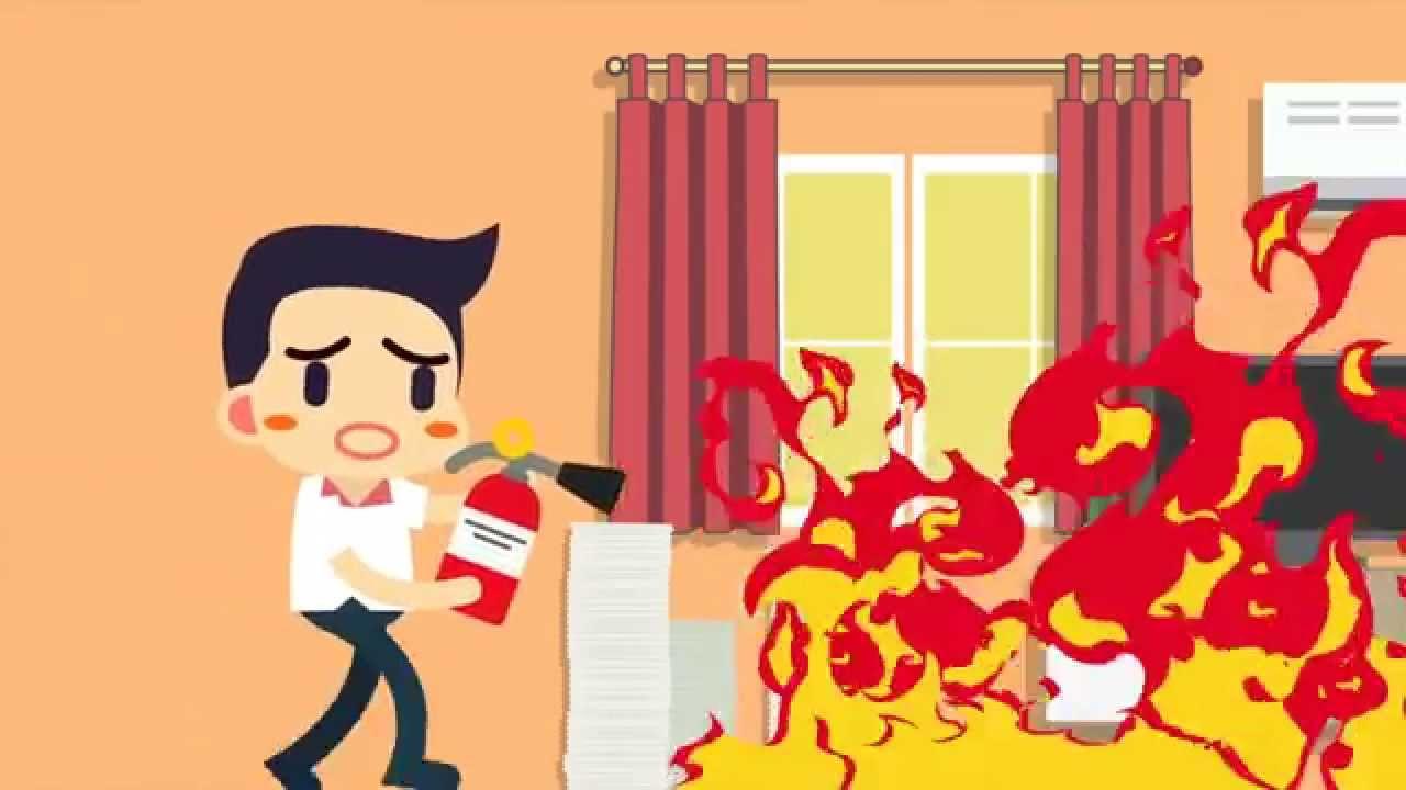 750 Gambar Rumah Kebakaran Animasi Terbaik