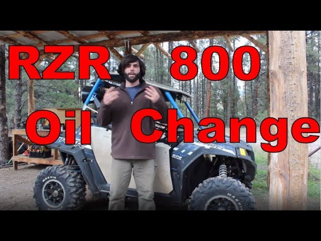 How-To Change Polaris RZR 800 Oil and Filter