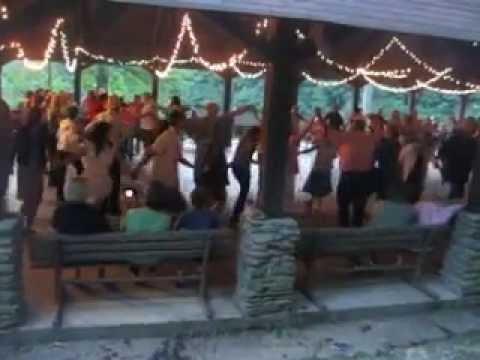 square dancing at Lake Winfield Scott
