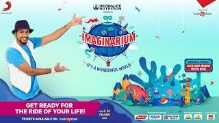 Imaginarium - It's a Wonderful World Tour   India's First Live Art Show