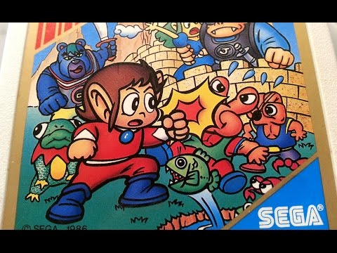 Classic Game Room - ALEX KIDD IN MIRACLE WORLD review for Sega Mark III