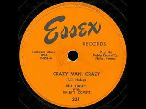 BILL HALEY with HALEY'S COMETS  'crazy man, crazy', 1953