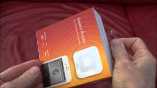 Unboxing of the New Square Contactless Chip Reader 2016