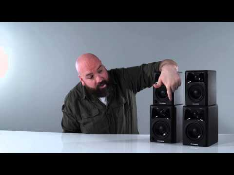 M-Audio - Intro on the latest AV32 & AV42 speakers