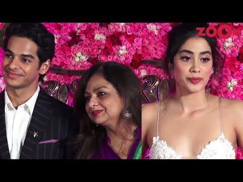 Janhvi Kapoor on Sara Ali Khan's debut | Ishaan Khatter with mother at Award show