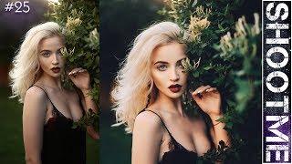 Ретушь женского портрета в Photoshop || Секреты моей обработки