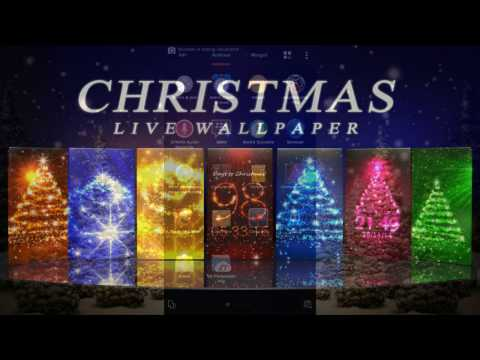 THE BEST CHRISTMAS LIVE WALLPAPER FOR ANDROID  !!!