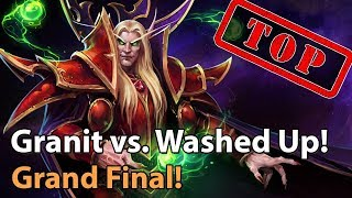 ► Heroes of the Storm: Granit Gaming vs. Washed Up - Grand Final HeroesHype