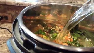 Recipe:  Veggie Soup In My Instant Pot