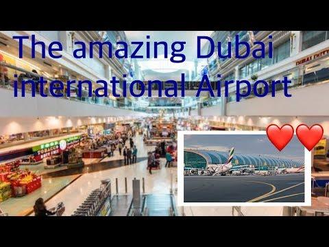 THE AMAZING DUBAI INTERNATIONAL AIRPORT - EMIRATES AIRLINE TERMINAL