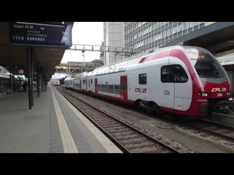 Les trains au Luxembourg le 25/4/2017