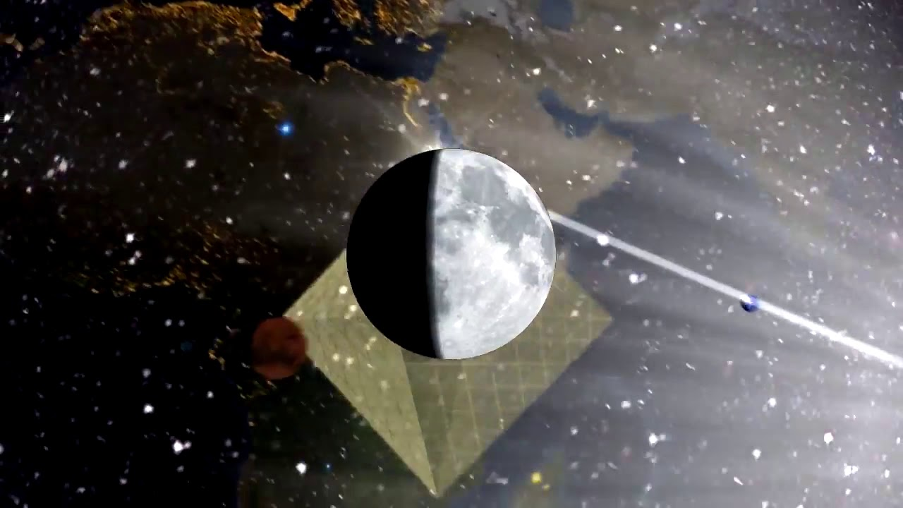 Moon in the Earth - Lord Steven Christ's Concave Earth