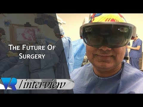 Surgeons Use MR And Hololens to Operate During Live Surgery