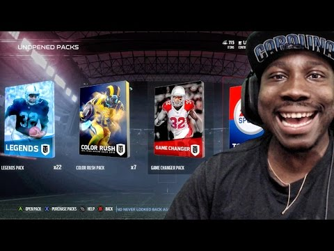 WHY I HAVEN'T PLAYED MUT SINCE LAUNCH! HUGE PACK OPENING! Madden 17 Ultimate Team Gameplay Ep. 5