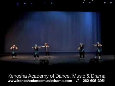 Kenosha Academy of Dance, Music & Drama Hip Hop Dance
