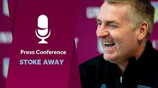 Press conference: Stoke away