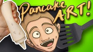 Download PANCAKE ART!! Did I FAIL or NAIL IT? (ft. HowToCookThat) Mp3 and Videos