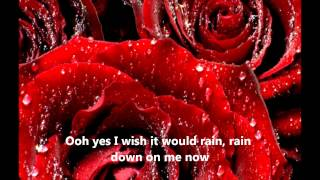Let it rain by Phil Collins with Lyrics