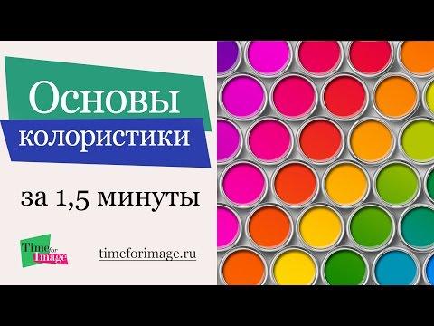 Основы колористики. Теория цвета