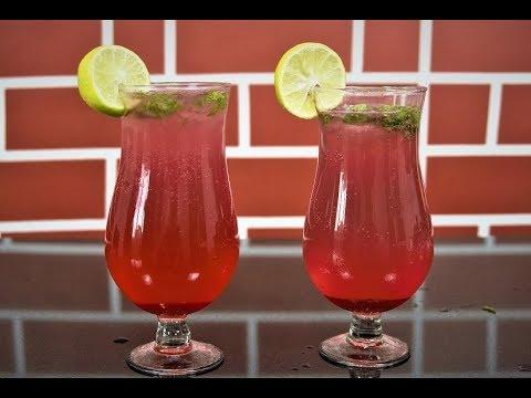 Rose Mojito Recipe - Summer Mocktail Recipe - The Indian Taste - Chef Harleen